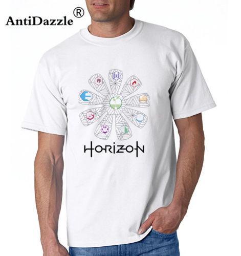 2018 Fashion T-shirts for Men Game Horizon Zero Dawn T-shirts Print Pattern Tee Cool Casual pride t shirt men Unisex New Fashion