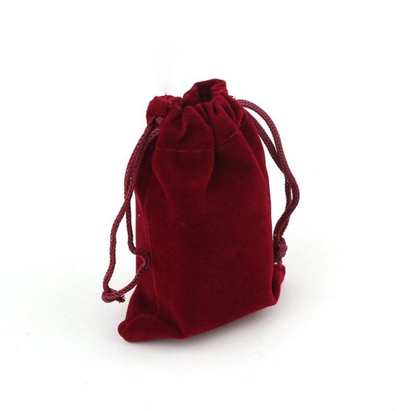 10pcs 9*12cm Velvet Drawstring Wedding Favor Gift Bags Candy Bags Jewelry Pouch Gift For Birthday Party Decorations Kids