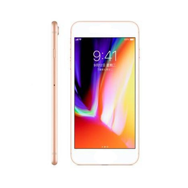 Goophone I8 Plus 5.5 inch 1GB/4+8GB WCDMA unlocked cell phones shows 4GB/256GB 4g lte with sealed box