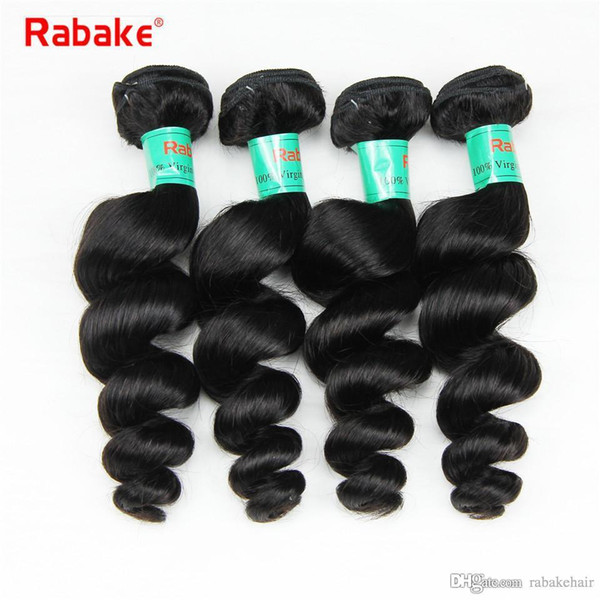 8-28 inch Raw Indian Loose Wave Human Hair Bundles Rabake Cheap Prices Indian Brazilian Virgin Hair Weave Extensions Full Head Deals
