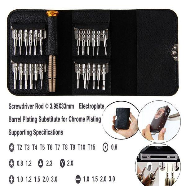 25 in 1 Precision QPtools Screwdriver Set Wallet Watch Laptop Smart Phone Repair Dismantle Multi Tools