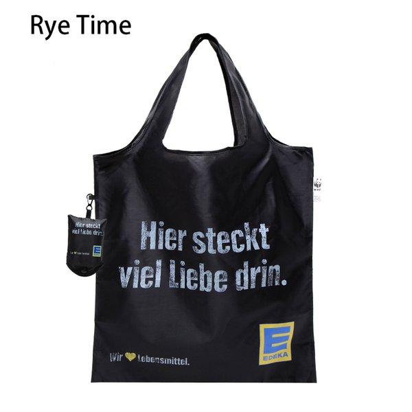 Großhandel Große Faltbare Einkaufstasche Licht Eco Freundliche Supermarkt Tote Umhängetasche Portable Wiederverwendbare Casual Lebensmittelgeschäft