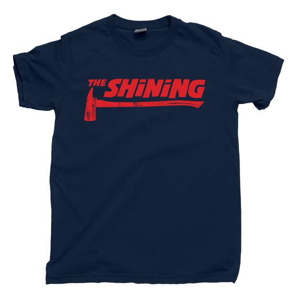 Details zu DIE SHINING AXT Shirt Stanley Kubrick übersehen Hotel Redrum Heres Johnny T-Shirt Lustiges freies Verschiffen Unisexbeiläufiges T-Stück Geschenk