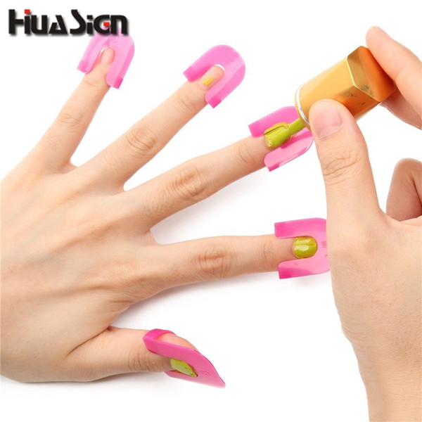 26PCS/Set Manicure Finger Nail Polish Shield Protector Tool Nail Art Stickers Tips Cover Case Keep Polish From Spilling