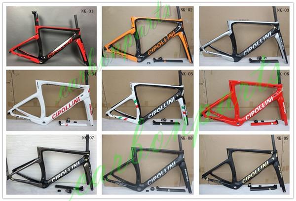 heiße Verkaufsqualität das neueste Cipollini NK1K viele Farben vollcarbon Cipollini-Rennradrahmen-Fahrradrahmenset