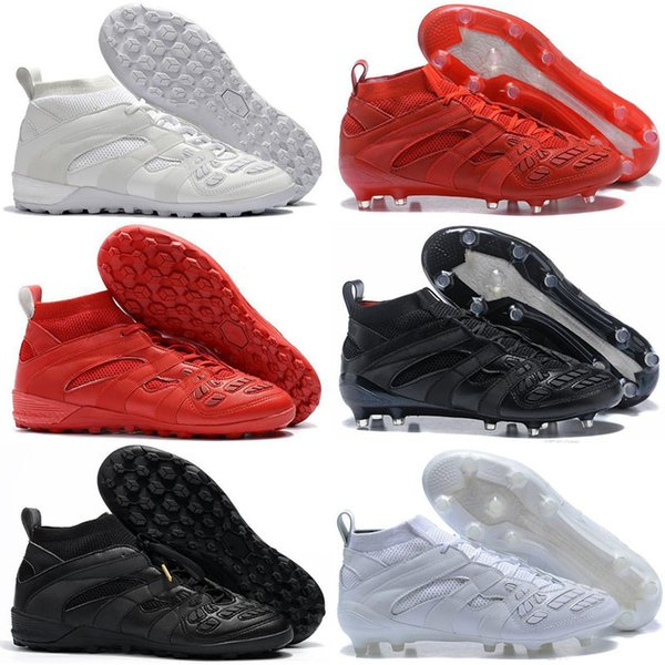 Hot sale Cheap Predator Accelerator DB Capsule FG Soccer Cleats Mens High Quality Football Boots sneakers Size 39-46
