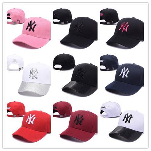 Hot boné de beisebol nova orleães carta sol chapéus ajustável snapback hip hop chapéu de dança de verão ao ar livre das mulheres dos homens branco preto azul marinho viseira