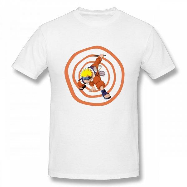 Envío gratis Uzumaki Naruto camiseta ocasional Top Design Nueva llegada cuello redondo Streetwear para hombre camiseta