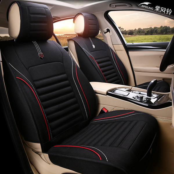 Seat Covers For Trucks >> Universal Fit Car Interior Accessories Seat Covers For Trucks Pu Leather Five Seats For Ford F Series For Suv Covers Cars Seat Covers Accessories