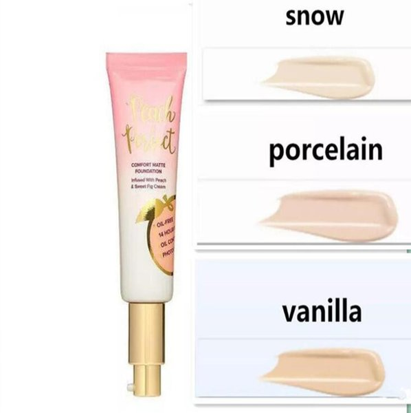 Newest Makeup Primed Peachy Cooling Matte Skin Perfecting Primer Primed Infused with Peach & Sweet Fig Cream 48ml