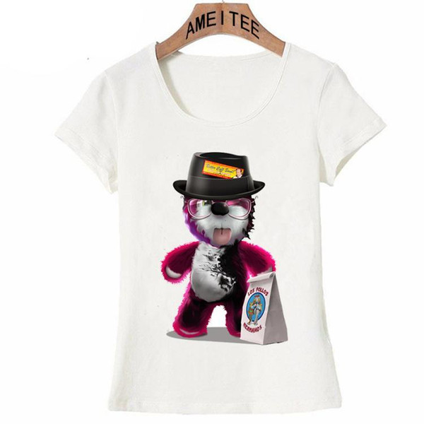 Breaking Bad T-Shirt summer fashion cartoon women T Shirt funny bear harajuku design casual ladies Tops cute tees