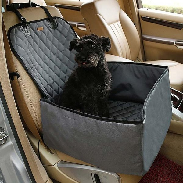 Waterproof Dog Pet Car seat mat Carrier Carry Storage Bag Booster Seat Cover 2 in 1 Carrier Bucket Basket free shipping