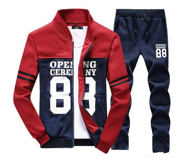 Pantaloni da uomo all'ingrosso Giacca da jogging Set da jogging Dolcevita Sport Tute Felpe Abbigliamento sportivo di moda spedizione gratuita