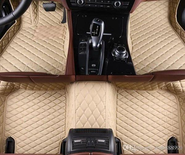 Esteiras do assoalho do carro de alta qualidade para bmw 3 5 6 7 séries E90 F30 E60 E61 F10 F11 F07 F07 F10 E12 F01 F01 G11 G12 forros do tapete