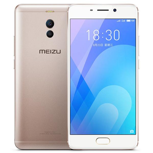 Meizu M6 Not Arka Çift Kamera Parmak İzi Kilidini 5.5 inç Ekran Telefon