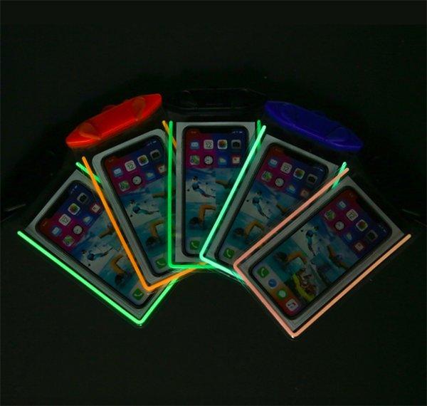 Étui étanche Étui pour téléphone portable Étui étanche pour téléphone Étui étanche pour nager pour téléphone intelligent jusqu'à 5,8 pouces