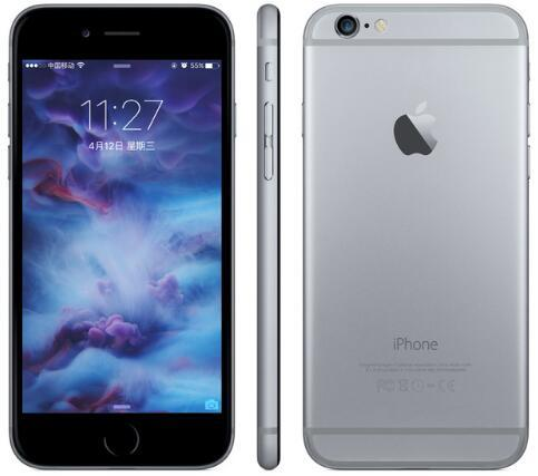 "100% Original Apple iPhone 6 without fingerprint 4.7"" inch 5.5"" inch 2GB RAM 16/64/128GB ROM Unlocked 4G LTE Refurbished cellphone"