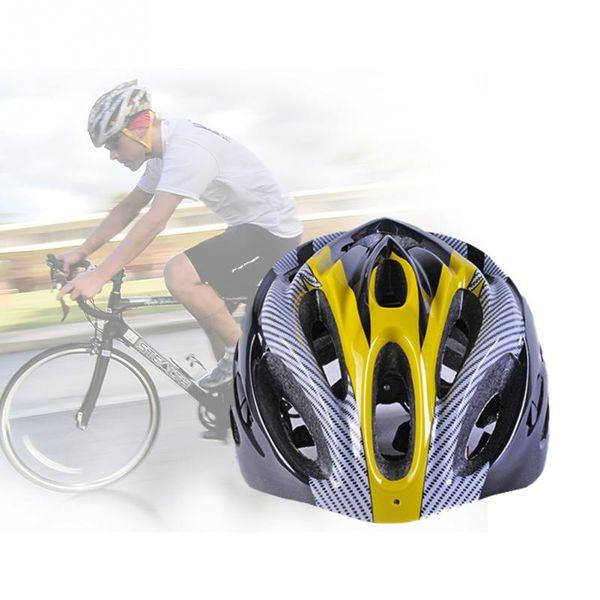 Carbon Fahrrad Fahrradhelm Erwachsene Mountainbike Straße Atmungsaktive Fahrradhelm 4 Farben für Wahl mit Hoher Qualität