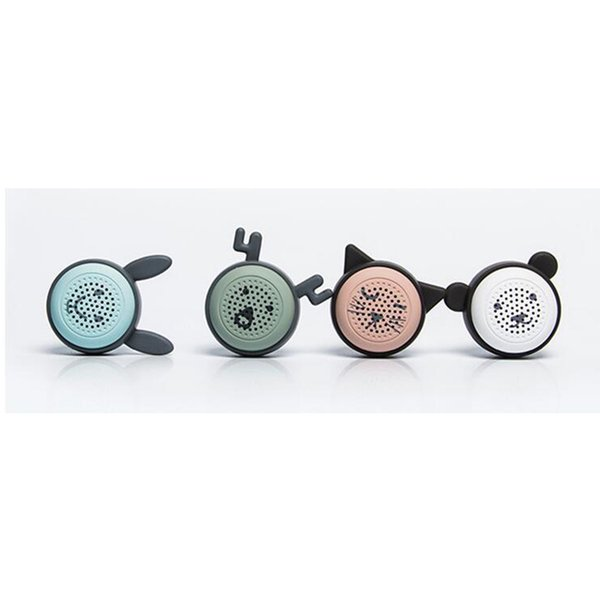 New Products Bluetooth Speaker Universal Wireless Camera Mini Elf Bluetooth Speaker Multifunction Subwoofer Speakers Four Packaged Sales