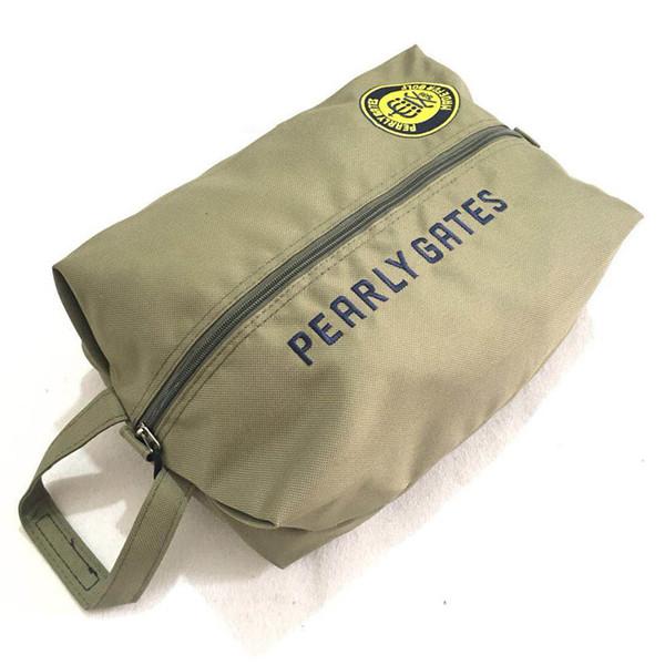 WOTUFLY жемчужные ворота Гольф обувь сумка Спорт на открытом воздухе молния холст сумки для гольфа 4 цвета для мужчин женщин Бесплатная доставка