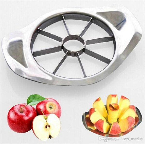 Stainless Steel Apple Slicer Vegetable Fruit Apple Pear Cutter Slicer Processing Kitchen Slicing Knives Utensil Tool 50 Pcs