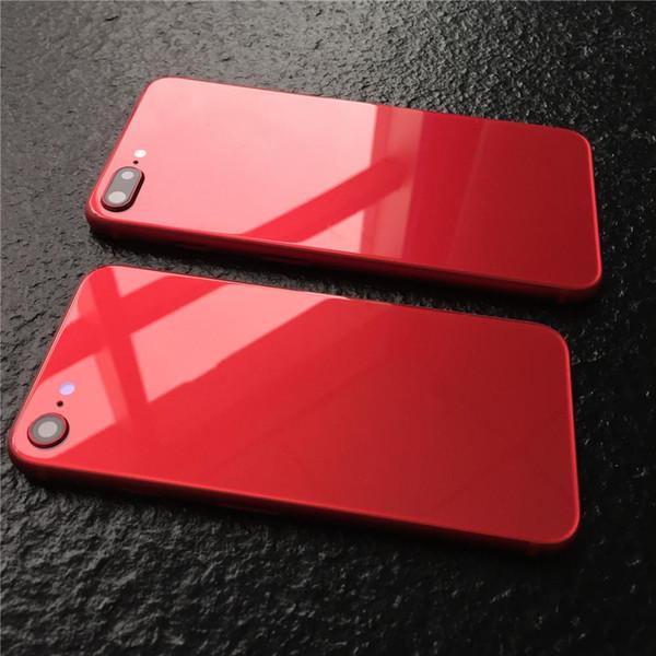 Полный корпус для Apple iPhone 6 6 Plus 7, как 8 Стиль задней крышки корпуса Крышка батарейного отсека Задняя дверь Корпус задней части корпуса для iPhone 6s 7 Plus