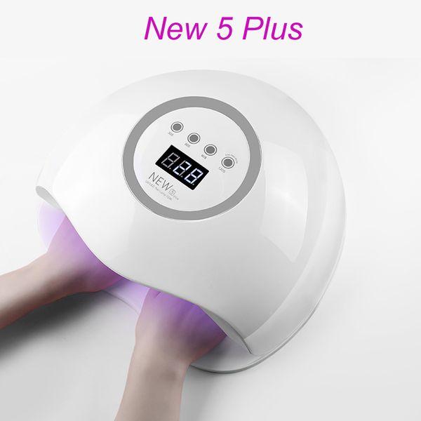 BEVILI COLOR New 5 Plus Nail Dryer 72W LED UV Lamp Nail Dryer Gel Curing Manicure Machine Art Tool Automatic Sens
