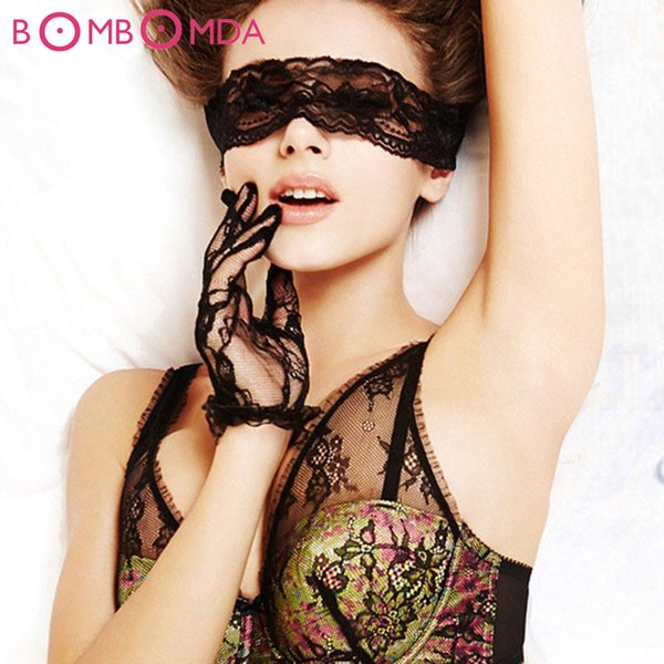 Sexy Lace Blindfolds Fetish Flirt Erotic Toys For men Woman Sleeping Eye Mask Adult game for couples Sex Blindfold Mask O2 S924