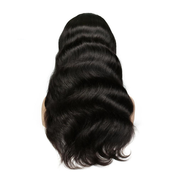 Full Lace Human Hair Wigs For Women Pre Plucked Body Wave Brazilian Lace Frontal Human Hair Wigs With Baby Hair Natural Hairline