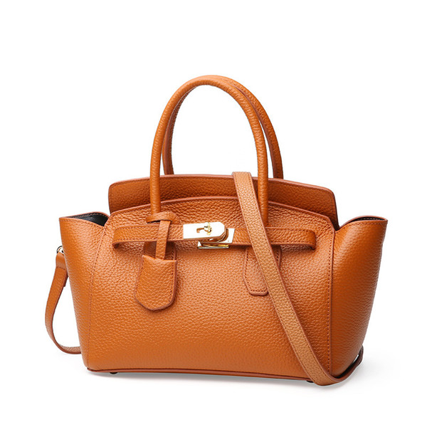 Brand wholesale fashion handbags small Burgundy Trapeze bag fashionable leather bags stylish handbags for women black online
