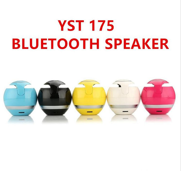 New type YST-175 Bluetooth Speaker Wireless hand free calling FM TF Card Bluetooth Multi-function Bluetooth Speaker For Phone 7 Tablet PC