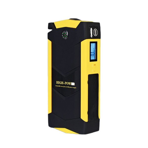 12V 69800mAh Capacity Multifunctional 4USB Car Jump Starter Charger Battery Power Bank Emergency Mobile Power Tool Kit
