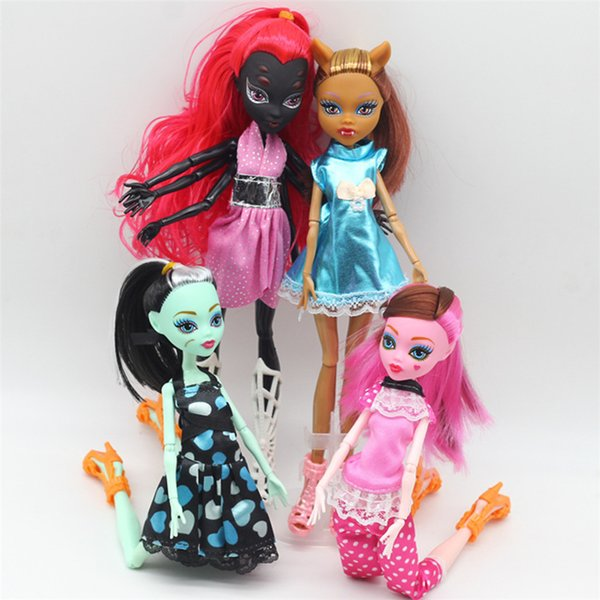 High Quality Dolls Monster New Style Movable Joint Body Girls Plastic Classic Toys BJD Doll DIY Gifts For Children