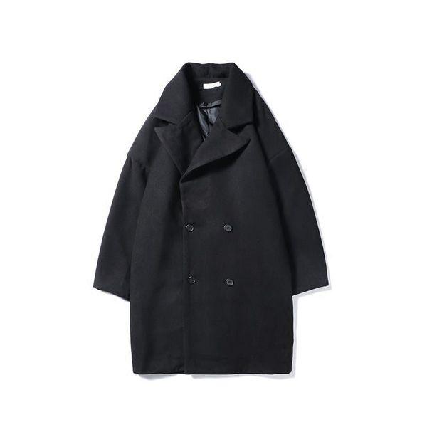 Compre Heren Palto Abrigo Para Y Paño Larga Chaqueta Invierno Jas qqC5xZrO