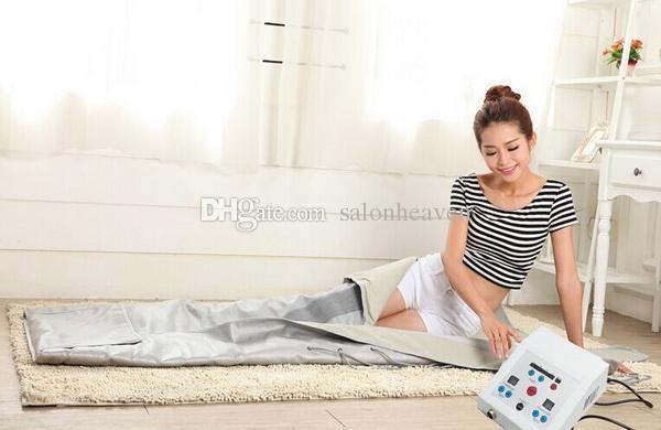 FIR Sauna Far Infrared Sauna Blanket Heating Therapy Body Slim Bag SPA Weight Loss Body Detox Fat Burning Body Shaping Machine