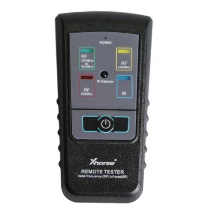 Xhorse Remote Key Tester for Radio Frequency Tester RF Infrared IR Tester For 300Mhz-320hz/ 434Mhz /868Mhz Free Shipping