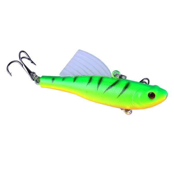 6.5cm 17g Winter Sea Hard Fishing Lure VIB Bait With Lead Inside Diving Fishing Baits Tackle