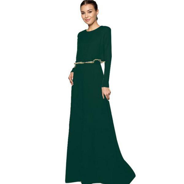 New Fashion Kaftan Abaya Vestito formale Elegante Maxi Vestidos Pakistan Abito arabo Abbigliamento islamico Abito musulmano Moschea Ragazza Dubai Islam