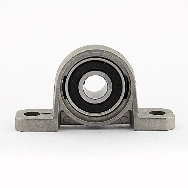 WALFRONT 10mm Zinc Alloy Mounted Bearing Pillow Block Housing Bearings Insert Metal Ball Shaft Support Spherical Roller KP000