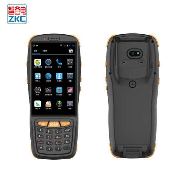 android handheld portable scanner with 1d/2d laser barcode scanner nfc