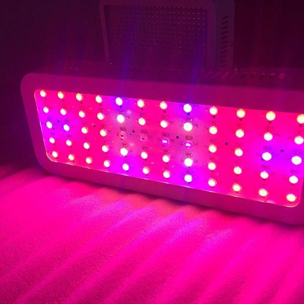AC85-265V 600 W Led Grow Light Para Sementes de Flores Indoor Full Spectrum 60 LED Planta Crescer Luz Hidroponia Vegs Floração Painel Lâmpada