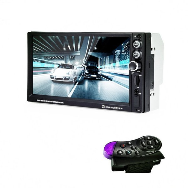 Reproductor multimedia para coche Universal Car MP5 Player Control de rueda Radio Controlador remoto de 7 pulgadas Touch Steer Wheel Controller