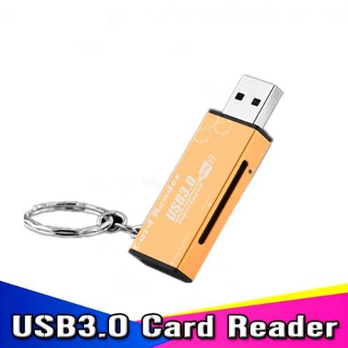 USB 3.0 Micro SDXC SD TF Memory Card Reader Adapter SD/MicroSD/TF Transflash Card USB3.0 High-Speed