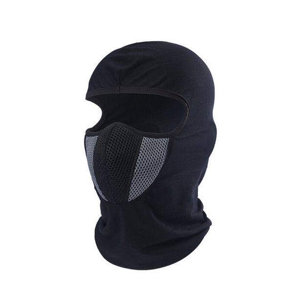 MTB Road Bike Bicycle Full Face Lycra Cycling Mask Windproof Cold And Dustproof Riding Running Ski Outdoor Sports Full Face Mask