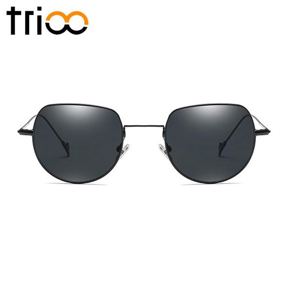 Оптовая небольшой ретро дизайн оттенки солнцезащитные очки женщин легкий металл стильный Gafas-де-соль mujer лето UV400 черный солнцезащитные очки для женщин