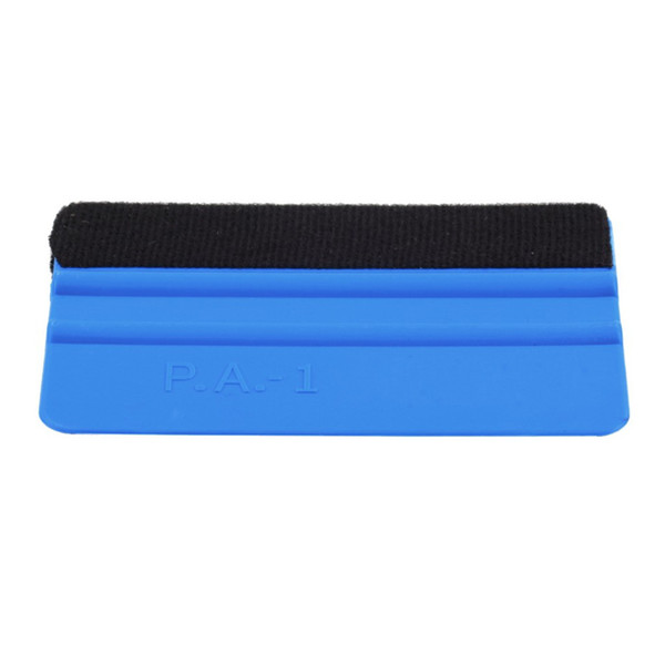 PP Durable Felt Wrapping Scraper Squeegee Tool for Car Window Film Blue Color
