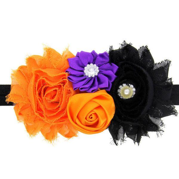 Girl Halloween Headdress Elastic Hair Band hair-accessories flower crown flower headband bandeau cheveux haarband