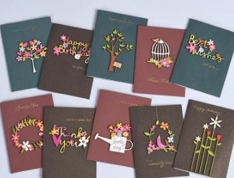 book,wedding,Hollowed-out, nows, small cards, creativity, individuality, simplicity, birthday thank you cards, messages, holiday wishe