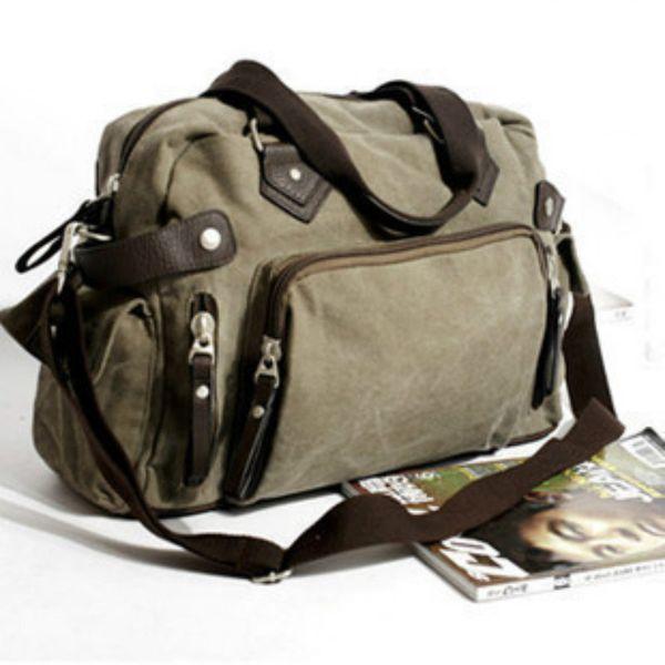 New Mens Canvas Crossbody Bag Designer Handbags High Quality Male Laptop Bag Hot Men Travel Messager Bags Tote Bolsa Masculina