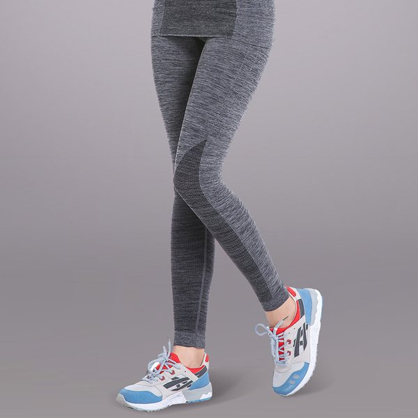 Pantaloni da corsa Pantaloni da allenamento Yoga Abbigliamento Sport da palestra Slim Fitness Donna Palestra Vita alta Abbigliamento Leggings per donna WA24